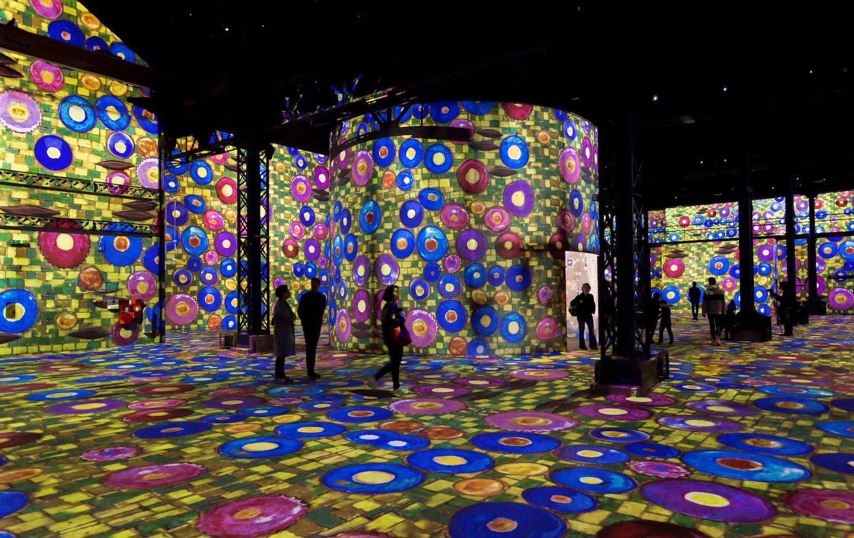 Tripping the Light Fantastic at the Atelier des Lumières Museum