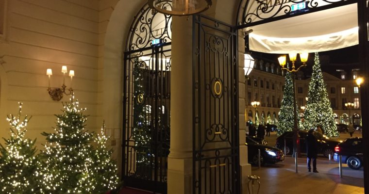 Seeing Paris in a Brand New Light at Christmas
