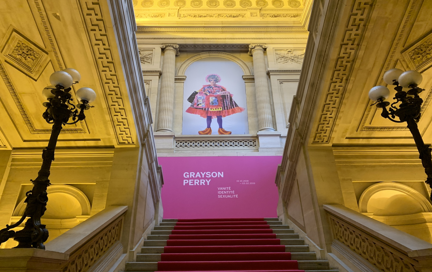 A British 'national treasure' abroad – Grayson Perry at the Monnaie de Paris